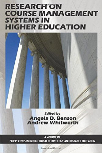 Research on Course Management Systerms in Higher Education Book Cover