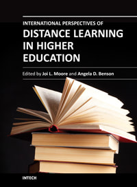 International perspectives of distance learning in higher education Book Cover
