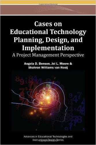 Cases on educational technology planning, design and implementation Book Cover